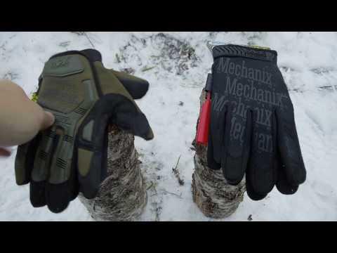 Перчатки Mechanix Wear. Копия и оригинал.