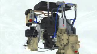 Устройство винтового компрессора Ingersoll Rand(, 2013-07-12T09:37:21.000Z)