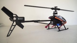 wltoys v950 flybarless 6g rc electric 3d helicopter review