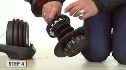 Bowflex® How To Tutorial|  Fixing SelectTech® Dumbbells