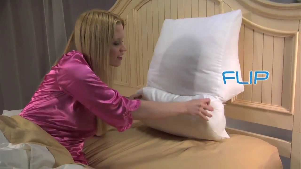 memory cool flip sleep contour foam innovations pillow