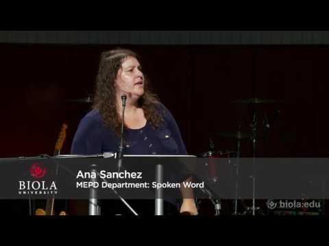 Multi-Ethnic Programs Department: Spoken Word - Biola University Chapel