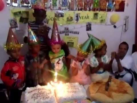 Joshua kassahun 1 year birthday sena 30/2005 8.30 Ethiopian time and calendar