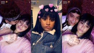 Kehlani | Snapchat Story | 21 October 2017 w/ Girlfriend Shaina