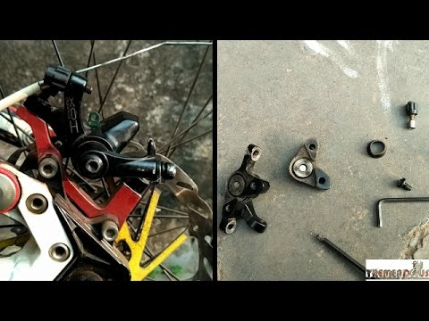 How To Service Mechanical Disc Brakes Caliper - Overhaul Repair- Boost- Full Service
