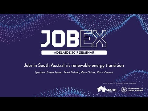 Jobs in South Australia's renewable energy transition