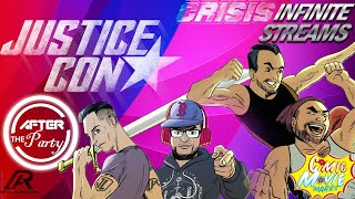 The Reel In Motion Joins Crisis On Infinite Streams with Special guest Comic Book Marks  \u0026 More