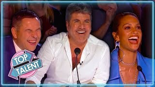 Simon Cowell's Top 10 Comedians on AGT & BGT 2017-18 | Top Talent