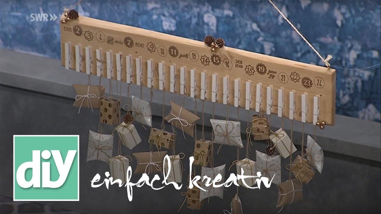 last minute adventskalender basteln diy einfach kreativ youtube. Black Bedroom Furniture Sets. Home Design Ideas