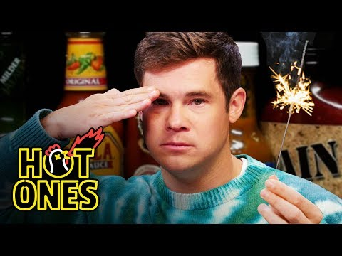 Adam Devine - Fourth Of July Hot Ones Challenge