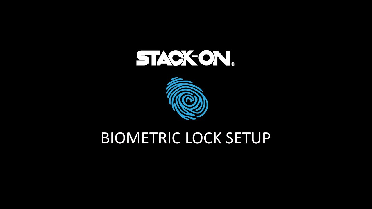 Biometric Lock Programming – Stack-On Personal and Quick Access Safes