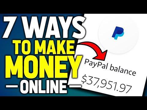 7 Legit Ways To Make Money Online - How To Make Money Online
