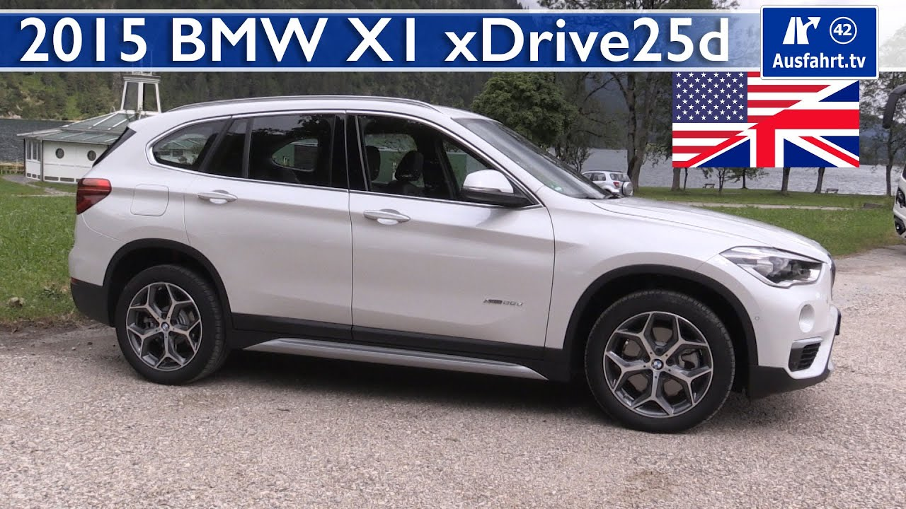 2015 bmw x1 xdrive25d f48 test test drive and in depth review english youtube. Black Bedroom Furniture Sets. Home Design Ideas