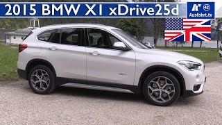 2015 bmw x1 xdrive25d f48 test test drive and in depth review english