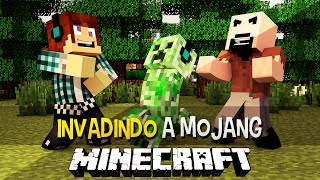 Invadindo a Mojang - Minecraft Machinima
