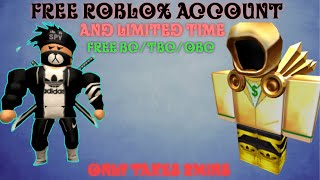 FREE ROBLOX BC ACCOUNT 😱 | WITH PROOF | AUGUST 2019