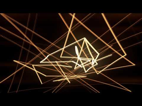 VJ / DJ GLOWING ABSTRACT LINE ANIMATED MOTION BACKGROUND || HD || LOOP