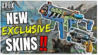 NEW EXCLUSIVE WEAPON SKINS LEAKED! - Apex Legends Season 3