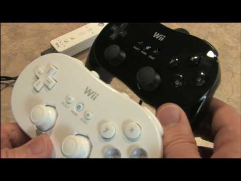 Classic Game Room - Wii CLASSIC CONTROLLER PRO review