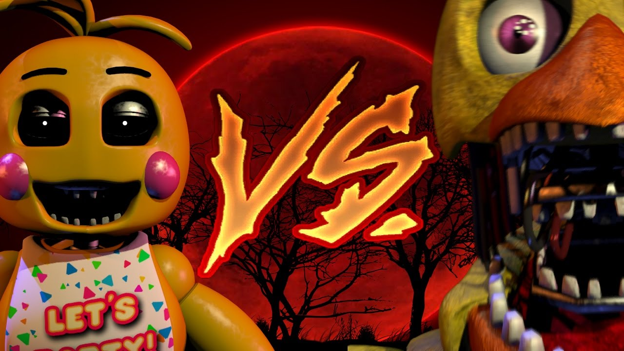 FNaF 2: Toy Chica Vs Chica