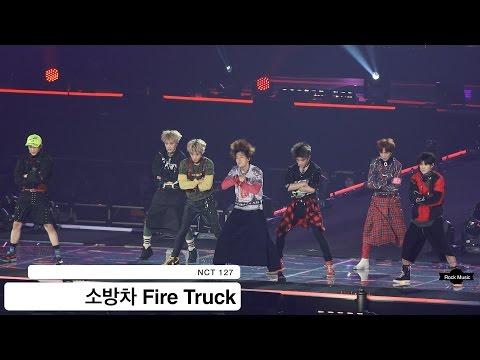 NCT 127[4K 직캠]소방차 Fire Truck@20160907 Rock Music
