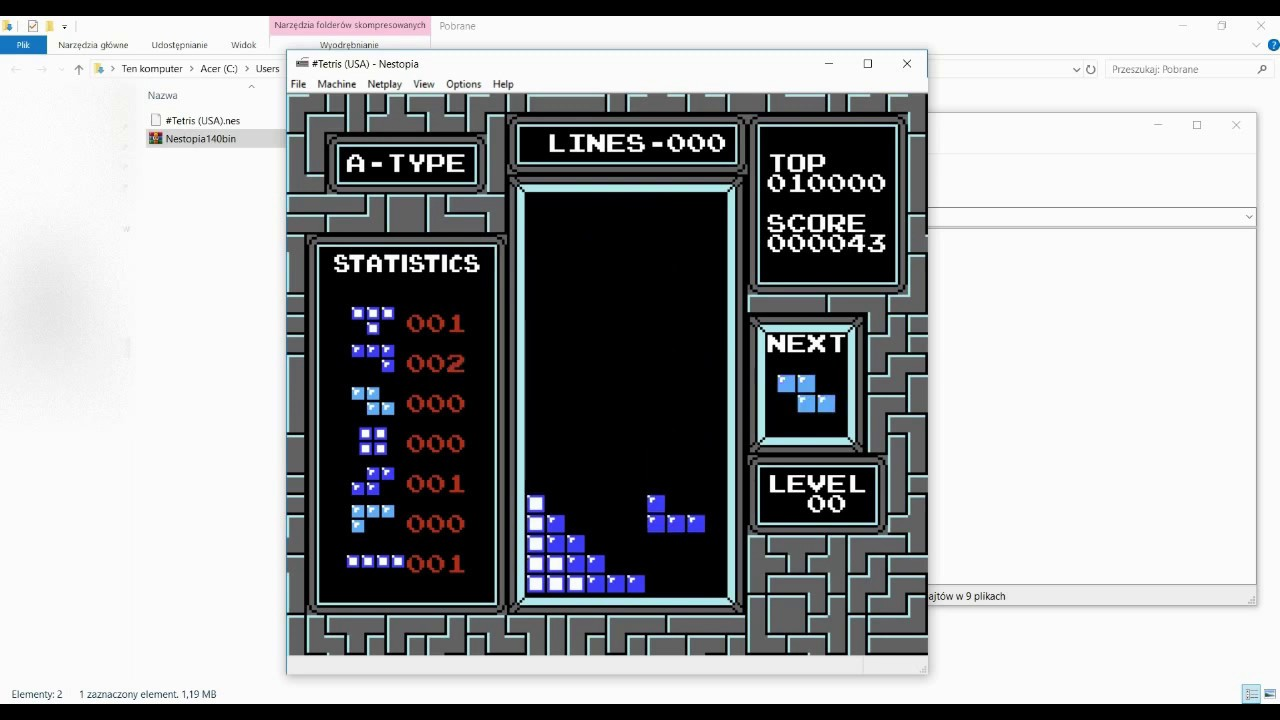 How to download NES Tetris NTSC/ PAL+ (ROM LINK)