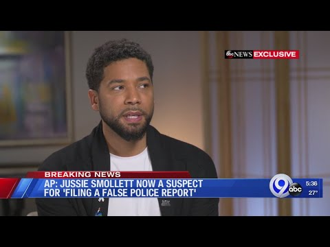 Breaking: Chicago police officially name Jussie Smollett as a suspect