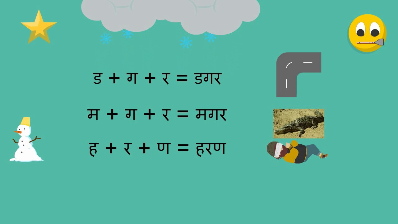 Three Letter Words Without Vowels 3 Letter Words Without Maatra