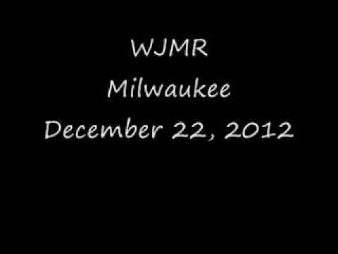 WJMR Milwaukee December 22, 2012