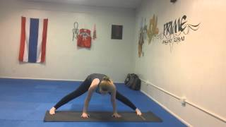 How To Straddle Headstand