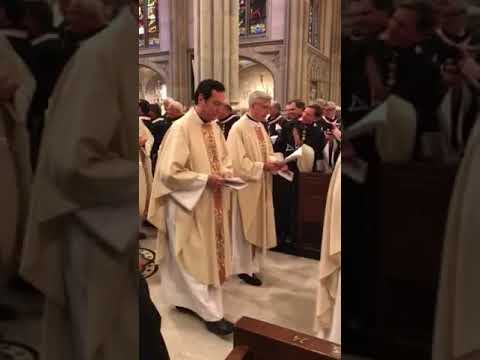 Order of Malta - Investiture Mass at St. Patrick's Cathedral 11/03/17