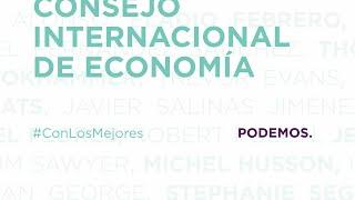 Presentación del Consejo Internacional de Economía #ConLoMejor