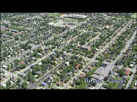 The City of Ottawa, La ville d'Ottawa - aerial shots