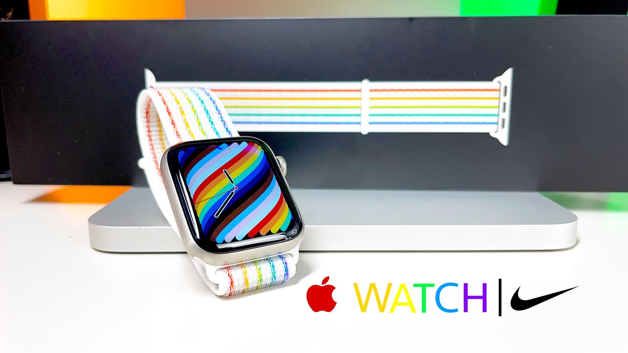 Download [Hands-On] NEW Apple Nike Sport Loop Special Edition Pride 2021 | Unboxing & Review