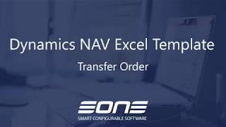 Excel Integration with Dynamics NAV - Transfer Order