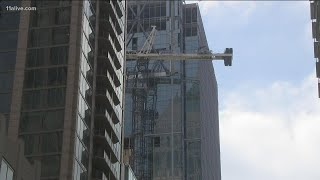 Some Midtown residents forced to evacuate due to leaning, unstable crane