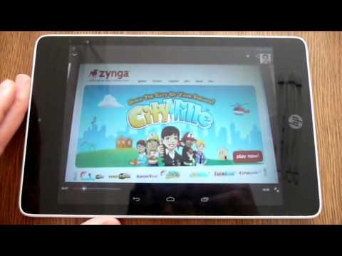 Tablet HP Slate 8 Pro review (Español)