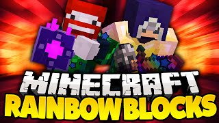 Hyper Bazooka Amp Ray Gun  Minecraft Lucky Rainbow Block