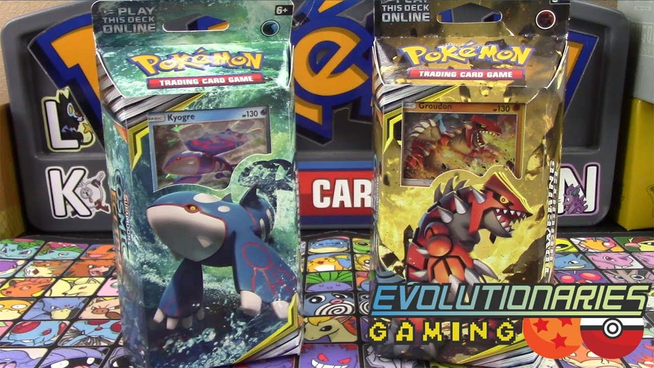 Pokemon TCG Kyogre Cosmic Eclipse Theme Deck