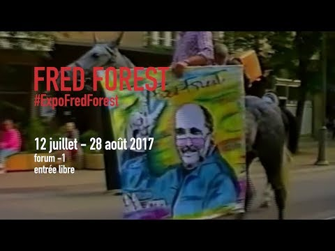 Teaser | Fred Forest | Exposition | Centre Pompidou