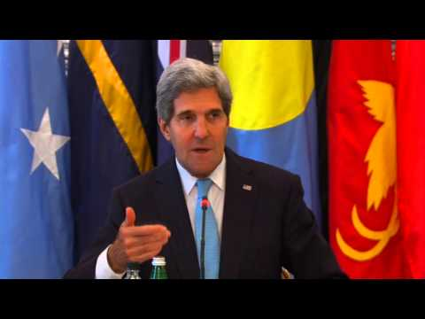 Secretary Kerry Delivers Remarks at the Pacific Islands Forum