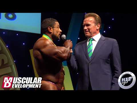 Arnold Classic Australia Awards Top 3 Men´s Open Bodybuilding