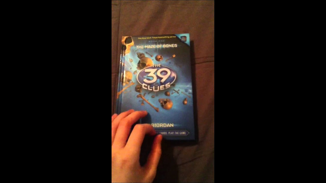 Book Review The 39 Clues  Book 1 The Maze Of Bones Youtube