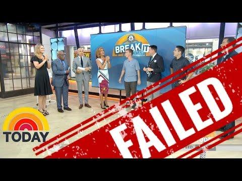 FAIL on National TV!