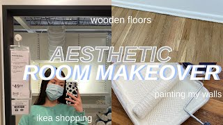 EXTREME ROOM TRANSFORMATION/MAKEOVER (simple, aesthetic + pinterest inspired)