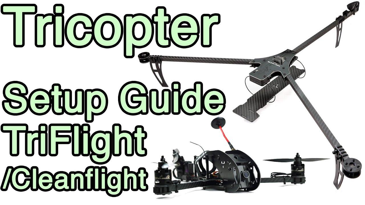 hight resolution of triflight setup video