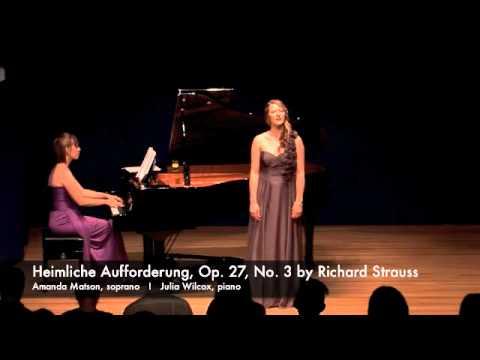 4 Lieder, Op. 27 by Richard Strauss