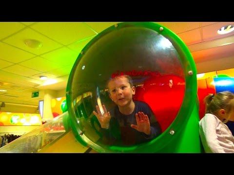 VLOG детская площадка Смикландия в магазине игрушек СМИК Сhildren's play yard in the Toy store