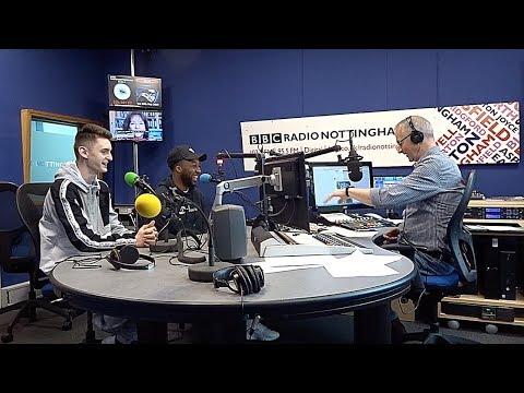 WE WAS ON LIVE RADIO!