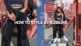 How to Style Athleisure | 3 LOOKS
